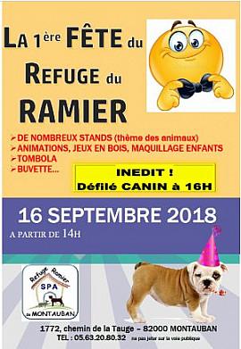 Le rendez-vous à ne pas manquer dimanche 16 septembre : la 1ère fête du refuge du Ramier.