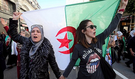 GlobalGeoNews / Algérie : Women's lives matter.