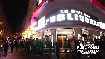 La nuit des publivores : un événement à ne pas manquer au Grand Rex de Paris le  24 mars à 22h00 !