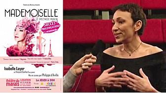 Isabelle Layer : une comédienne, chanteuse incontournable avec 'Mademoiselle' ! @IsabelleLayer  #GuillaumeMuller #tvlocale )