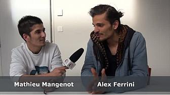 Alex Ferrini, réalisteur de Notre Révolution Intérieure, au micro de Mathieu Mangenot