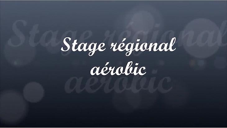 Stage régional aérobic du 27 au 29 octobre.