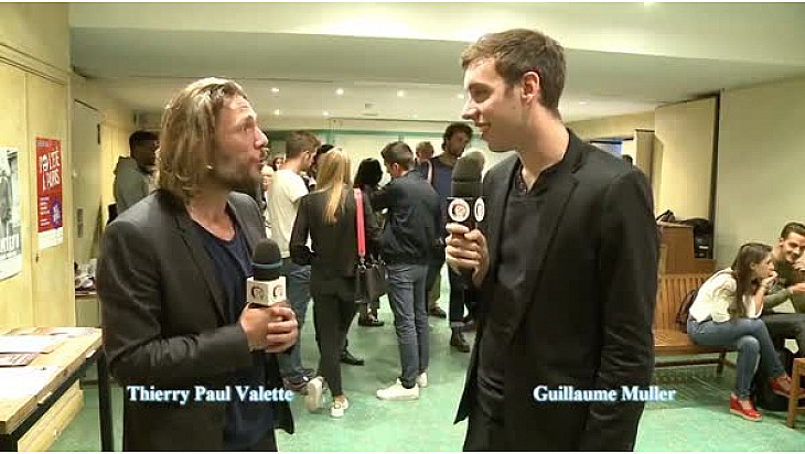 Avant-première cinéma de 'L'artiste', interview de Guillaume Muller par Thierry Paul Valette #tvlocale