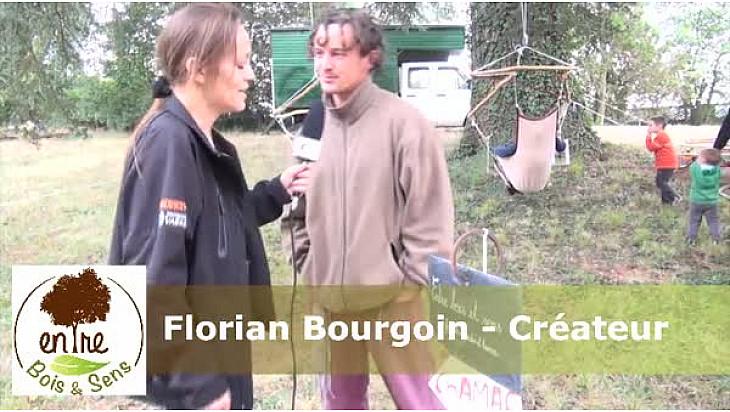 Entre Bois et Sens - Florian Bourgoin - Créateur de chaises suspendues