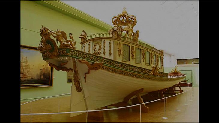 Retour du Canot impérial de Napoléon 1er à Brest en 2018