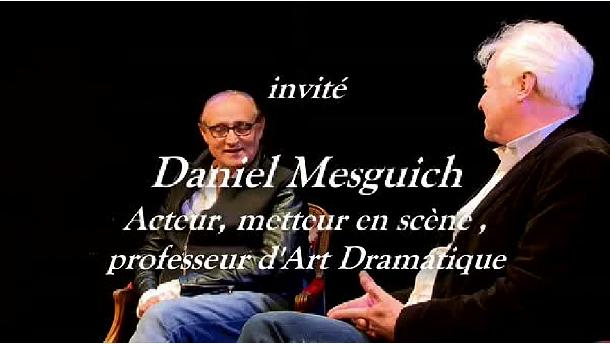Théâtre 'Les Rencontres Acteurs Artisans' Acte 2 avec Daniel Mesguich l'invité de Franck CABOT DAVID de l'école Acteurs Artisans @daniel_mesguich @Localinfo.fr @TvLocale_fr