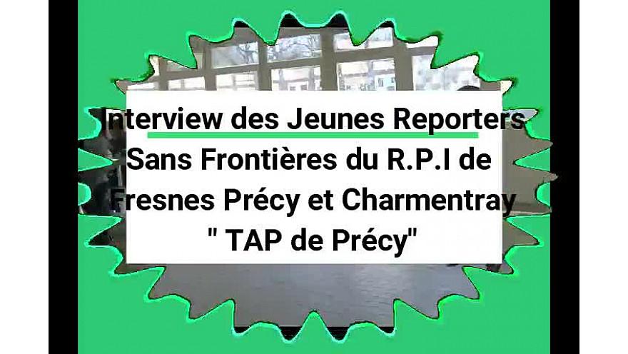 'Aimez-vous les enfants ?' leur a demandé Clara, Jeune Reporter Sans Frontières du RPI de Fresnes, Précy et Charmentray-Seine-et-Marne #tvlocale #localinfo