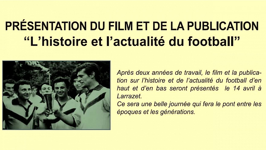 Larrazet : L'histoire et l'actualité du Football - Jeunes Reporters Sans Frontières