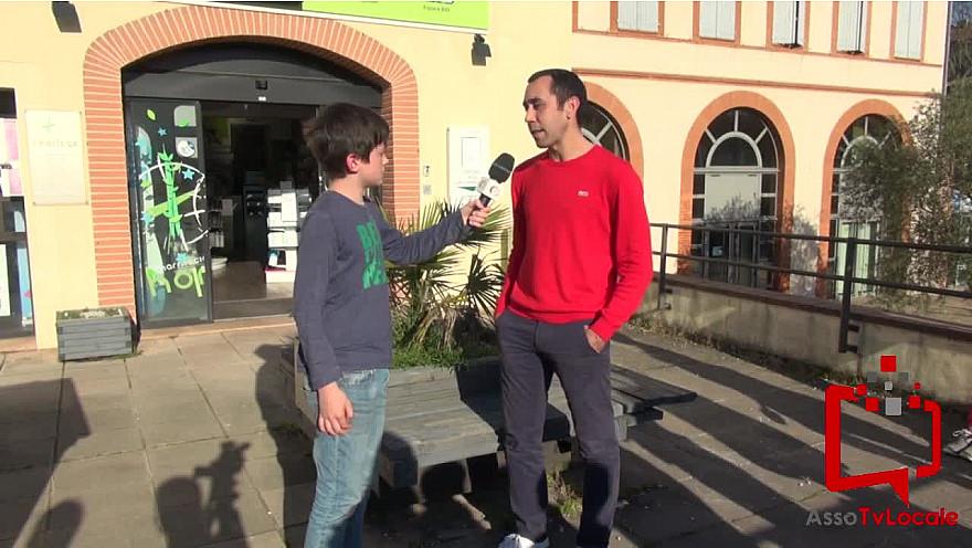 Les jeunes reporters sans frontières de Verdun Sur Garonne ont interwievé Monsieur NOGIG, pharmacien. @tvlocale_fr
