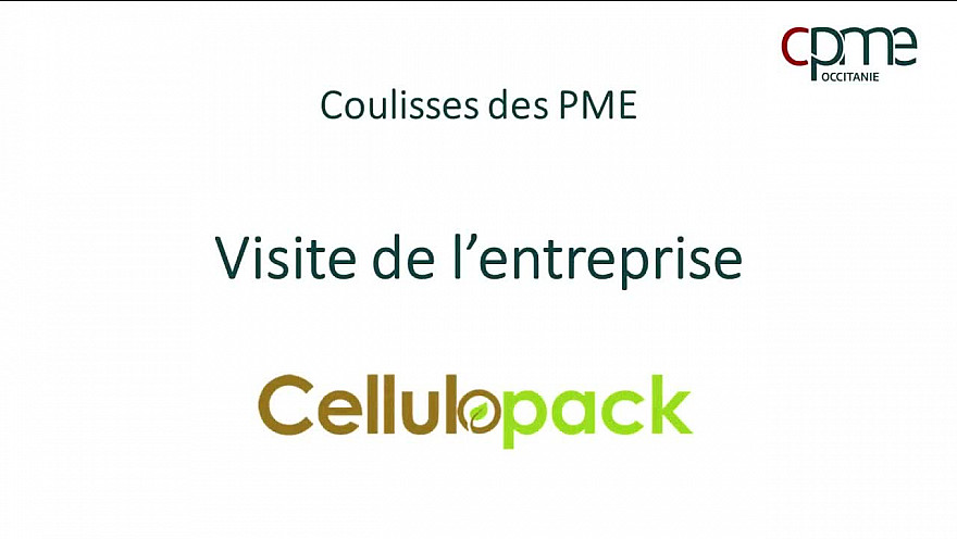 CPME Occitanie Ecole-Entreprise : Dans les coulisses de Cellulopack Part 1 @CPMEoccitanie @TrakiJulie #smartrezo #EMI @assotvlocale