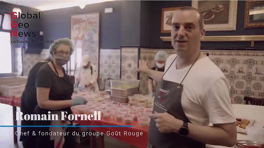 GlobalGeoNews / Le chef étoilé Romain Fornell face au Covid