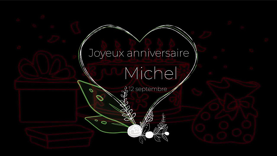 Joyeux anniversaire Michel Drucker