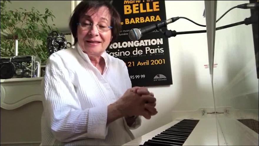 Le lundi en chanson Marie-Paule Belle chante 'la parisienne'